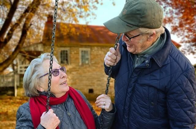 Zwei Rentner