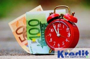 Express Kredit trotz negativer Schufa